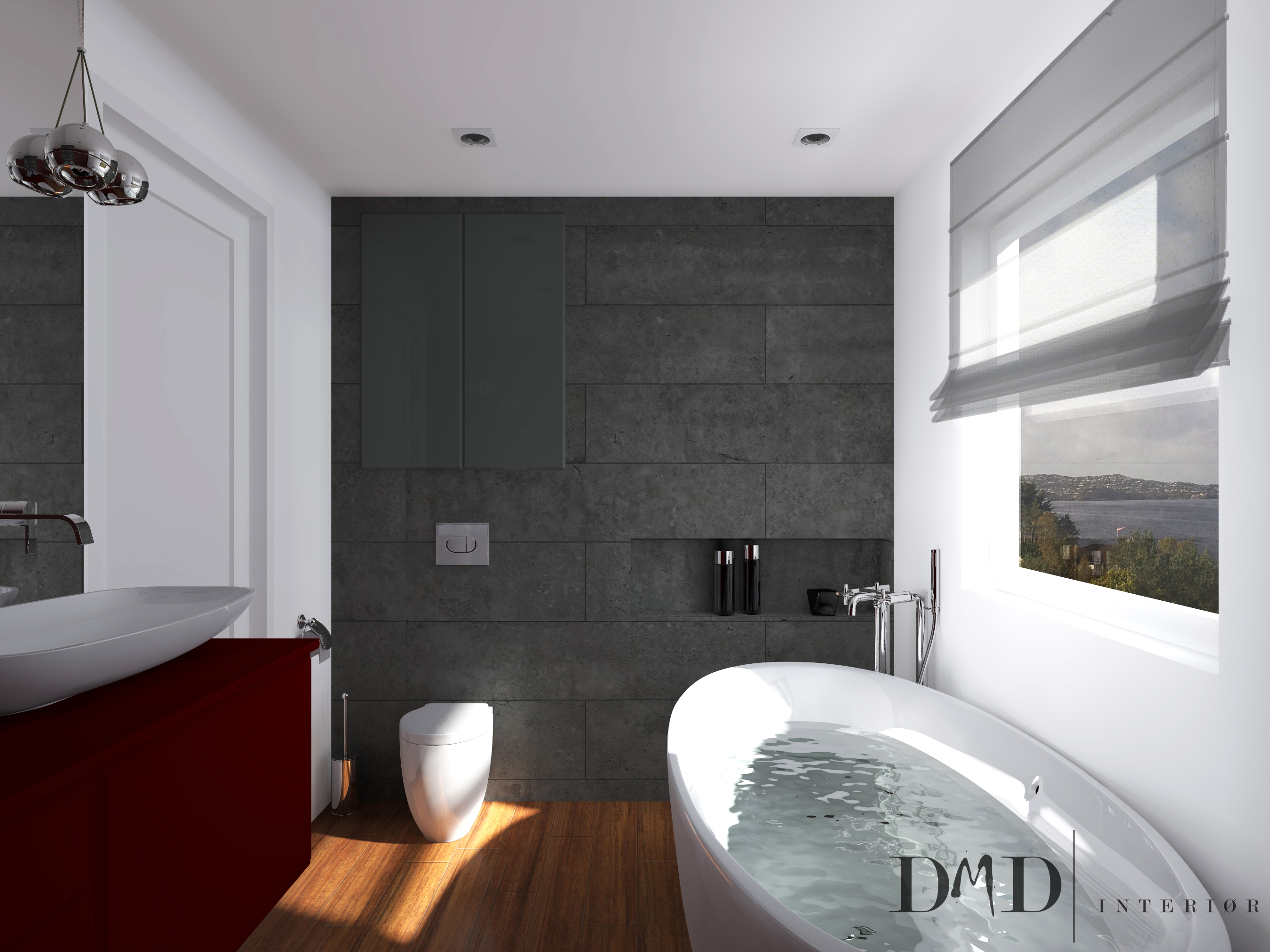Stavanger bathroom dmd interior design for Bad designer